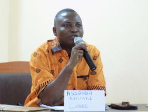 M. Edouard ASSOGBA, 1er Chargé aux Relations Extérieures IFA-Bénin