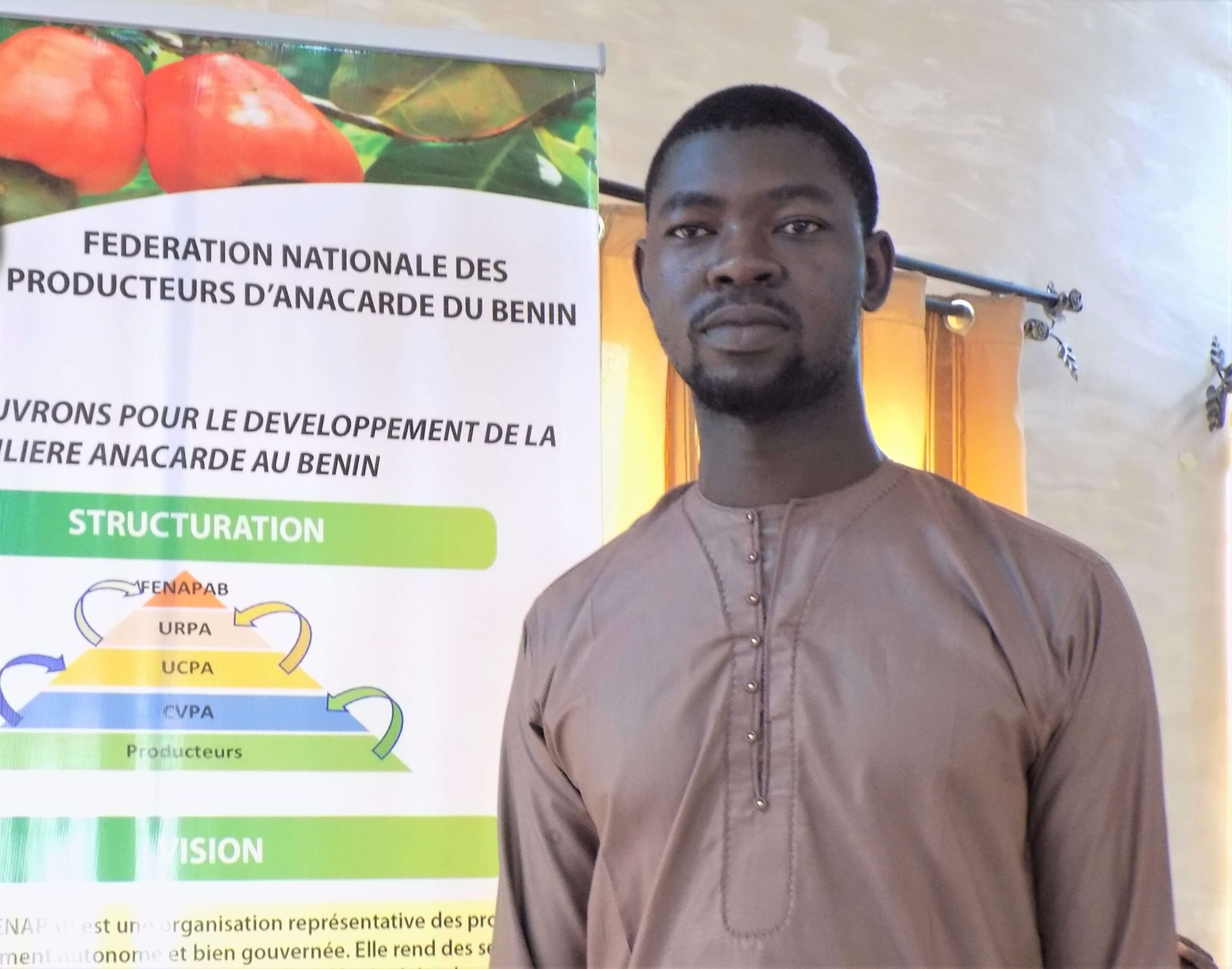 Interview du Directeur Régional de l'URCPA Borgou Alibori sur la situation de mévente des noix