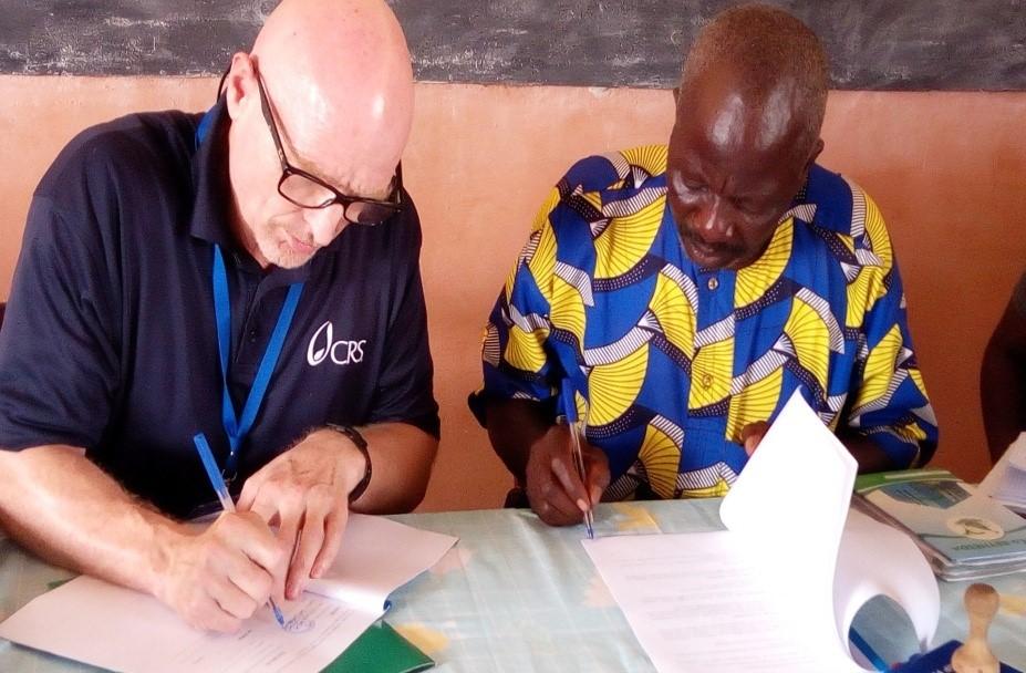 L'ONG CRS et l'URCPA Ouémé Plateau ensemble pour le projet Farmer to Farmer
