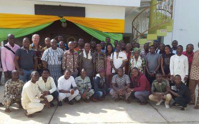 Enquête rendement de l'anacarde au Bénin : la FENAPAB forme les agents enquêteurs et lance l'opération
